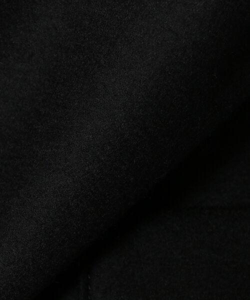 TOMORROWLAND / トゥモローランド ノーカラージャケット | ウールジャージー スタンドカラージャケット | 詳細11