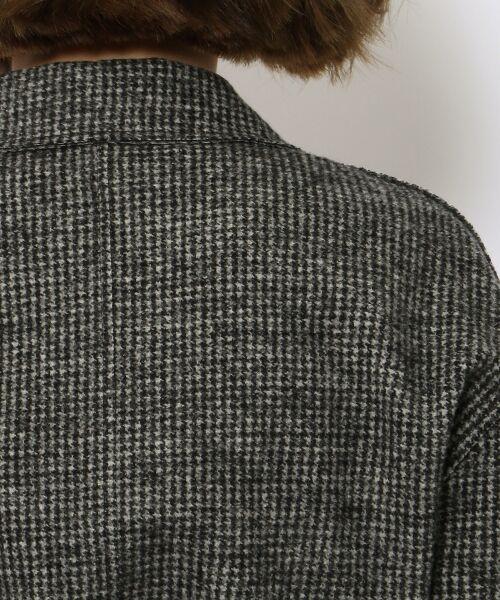 TOMORROWLAND / トゥモローランド テーラードジャケット | ウールナイロン テーラードロングジャケット | 詳細11