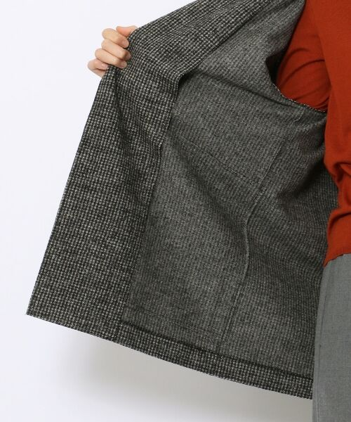 TOMORROWLAND / トゥモローランド テーラードジャケット | ウールナイロン テーラードロングジャケット | 詳細9