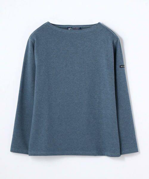 TOMORROWLAND / トゥモローランド カットソー | SAINT JAMES OUESSANT 無地Tシャツ(67 ダークブルー)