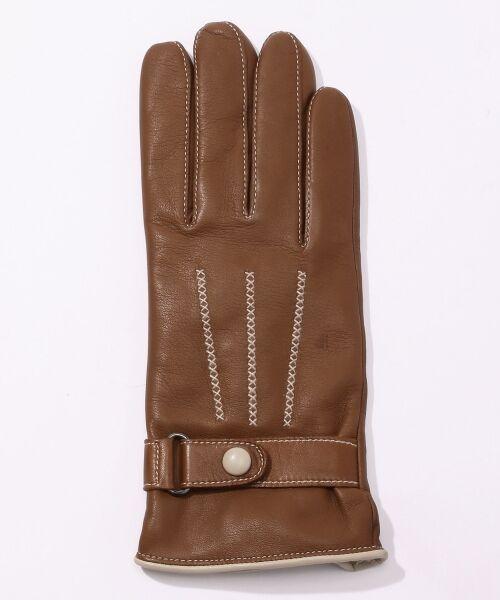 TOMORROWLAND / トゥモローランド 手袋 | Gloves ステッチグローブ | 詳細1
