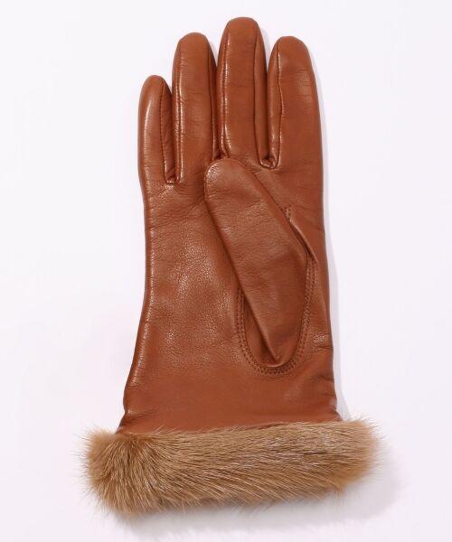 TOMORROWLAND / トゥモローランド 手袋 | Gloves ミンクファーグローブ | 詳細2