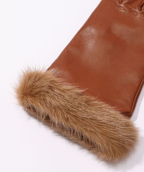TOMORROWLAND / トゥモローランド 手袋 | Gloves ミンクファーグローブ | 詳細3