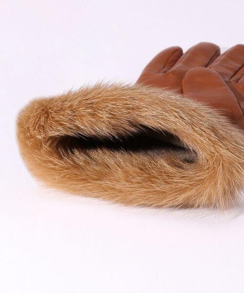 TOMORROWLAND / トゥモローランド 手袋 | Gloves ミンクファーグローブ | 詳細4
