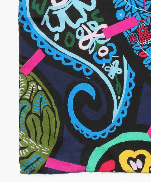 TOMORROWLAND / トゥモローランド バンダナ・スカーフ   mii ペイズリープリントシルクスカーフ(L)   詳細3