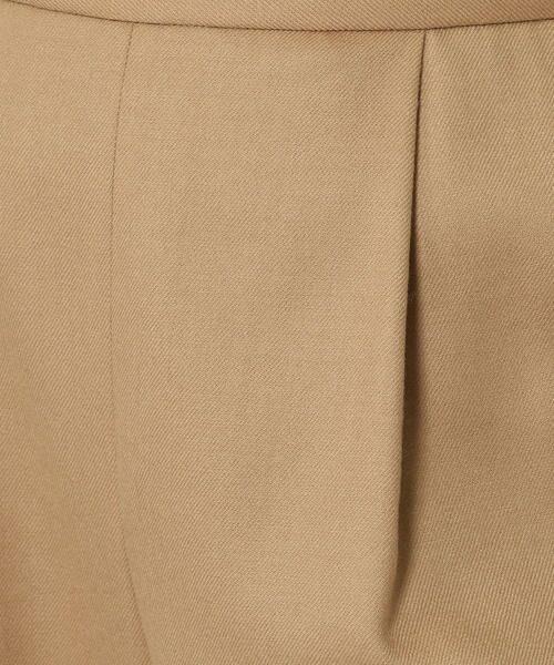 TOMORROWLAND / トゥモローランド スラックス・ドレスパンツ | ウールサキソニー ハイウエストタックパンツ | 詳細9