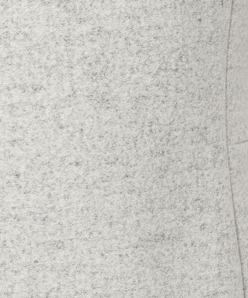 TOMORROWLAND / トゥモローランド ミニ丈・ひざ丈ワンピース | ウールポリエステル Vネックワンピース | 詳細9