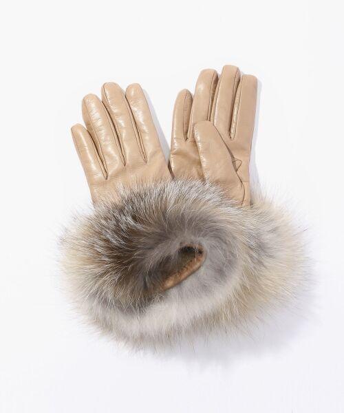 Gala Gloves フォックスファーグローブ