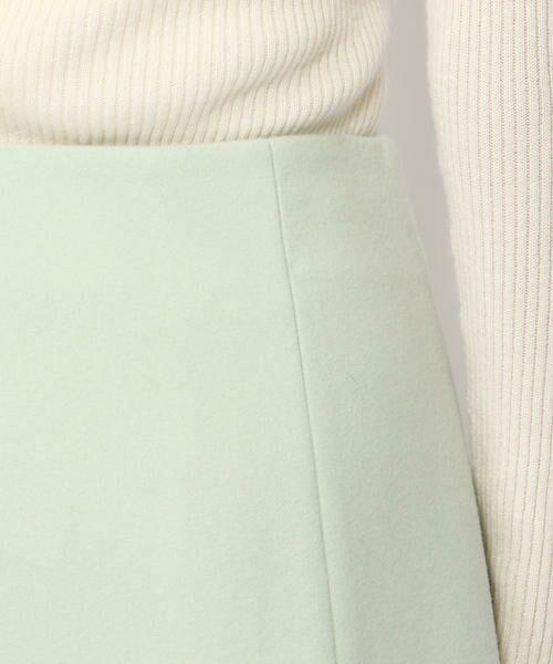 TOMORROWLAND / トゥモローランド ミニ・ひざ丈スカート | ウールメルトン マーメイドスカート | 詳細10