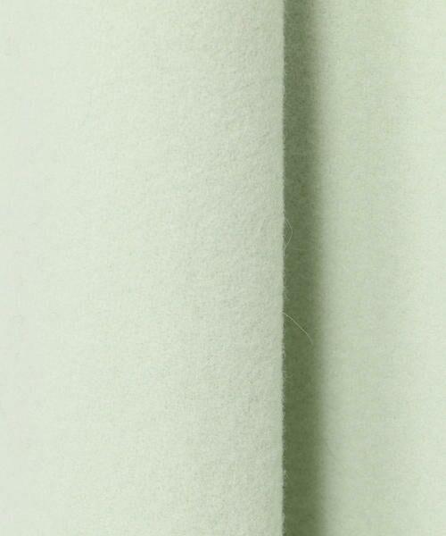 TOMORROWLAND / トゥモローランド ミニ・ひざ丈スカート | ウールメルトン マーメイドスカート | 詳細13