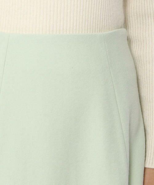 TOMORROWLAND / トゥモローランド ミニ・ひざ丈スカート | ウールメルトン マーメイドスカート | 詳細9