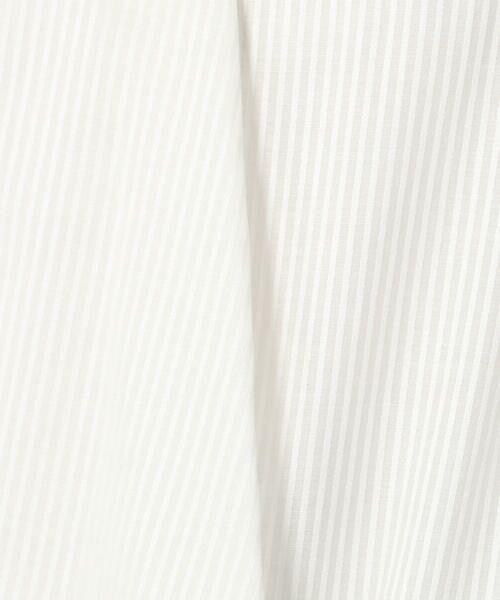 TOMORROWLAND / トゥモローランド シャツ・ブラウス | シアーストライプ Vネックブラウス | 詳細10