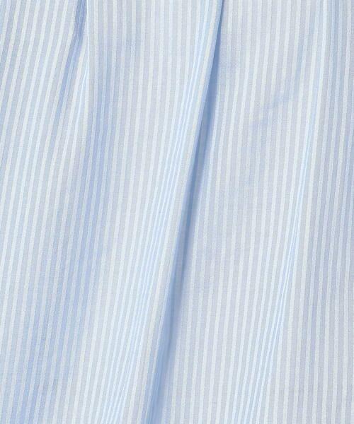 TOMORROWLAND / トゥモローランド シャツ・ブラウス | シアーストライプ クルーネックブラウス | 詳細13