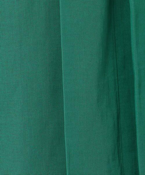 TOMORROWLAND / トゥモローランド ミニ・ひざ丈スカート | コットンボイル ラッププリーツスカート | 詳細13