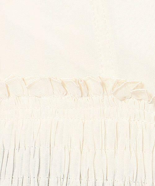 TOMORROWLAND / トゥモローランド ミニ丈・ひざ丈ワンピース | コットンボイル プリーツキャミソールワンピース | 詳細6