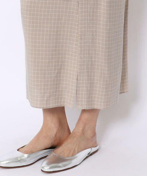 TOMORROWLAND / トゥモローランド ロング・マキシ丈スカート | ウォッシュドレーヨン 3-wayシャツスカート | 詳細7