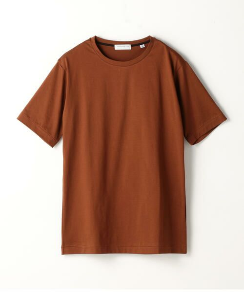 TOMORROWLAND / トゥモローランド Tシャツ | スヴィンジャージー クルーネックTシャツ(47 ブラウン)