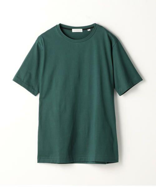 TOMORROWLAND / トゥモローランド Tシャツ | スヴィンジャージー クルーネックTシャツ(55 グリーン)