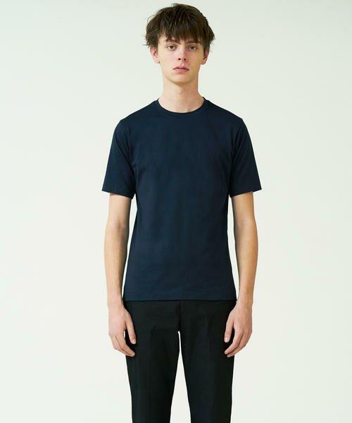 TOMORROWLAND / トゥモローランド Tシャツ | スヴィンジャージー クルーネックTシャツ(69 ネイビー)