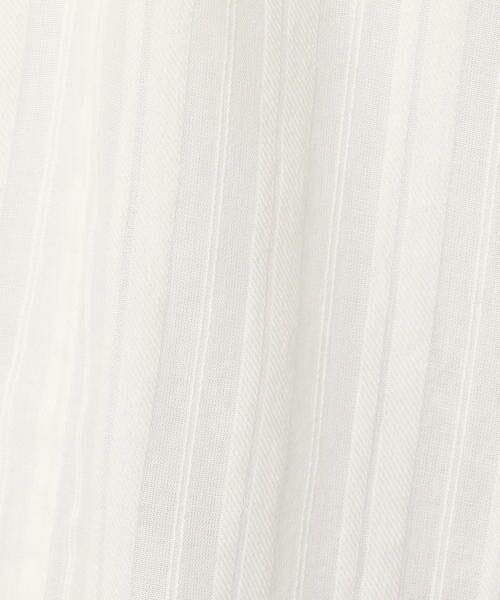 TOMORROWLAND / トゥモローランド シャツ・ブラウス | ストライプジャカード ジャカードテープギャザーブラウス | 詳細13