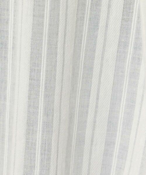 TOMORROWLAND / トゥモローランド ロング・マキシ丈ワンピース | 【WEB先行予約】ストライプドビー ジャカードテープギャザーワンピース | 詳細7