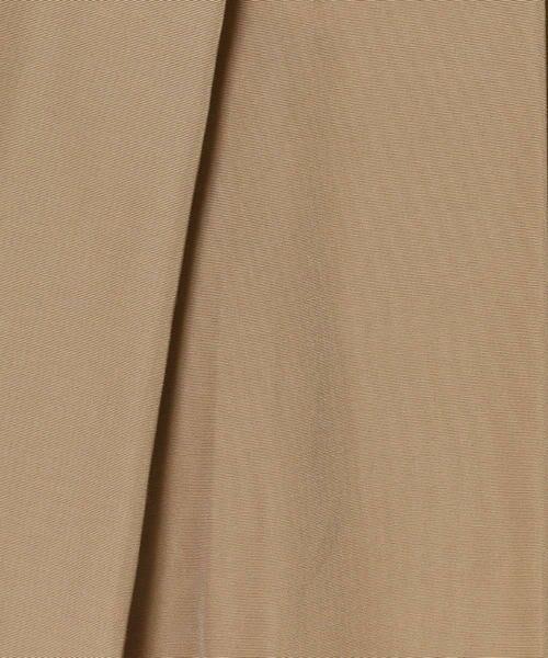 TOMORROWLAND / トゥモローランド ミニ・ひざ丈スカート | トリアセテートコットン ランダムタックスカート | 詳細7