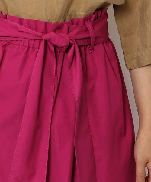 TOMORROWLAND / トゥモローランド ミニ・ひざ丈スカート | コットントロピカル ベルテッドスカート | 詳細8