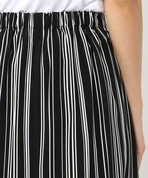 TOMORROWLAND / トゥモローランド ミニ・ひざ丈スカート | アセテートファイユ ラップスカート | 詳細6