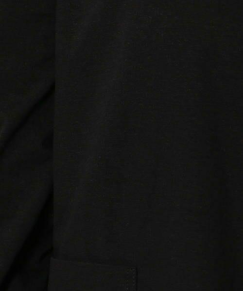 TOMORROWLAND / トゥモローランド その他アウター   コットンリネンジャージー オープンフロントジャケット   詳細5