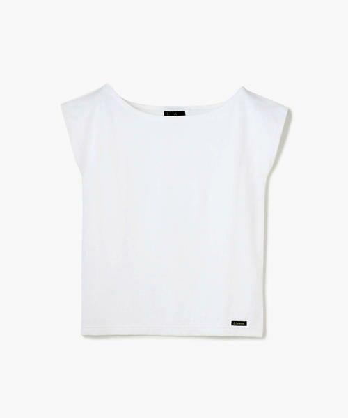TOMORROWLAND / トゥモローランド カットソー   Le minor ワイドオープンネック Tシャツ(11 ホワイト)
