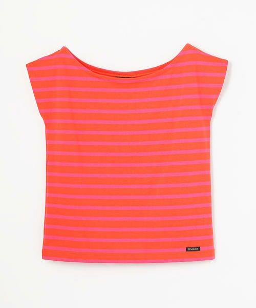TOMORROWLAND / トゥモローランド カットソー   Le minor ワイドオープンネック Tシャツ(28 オレンジ系)
