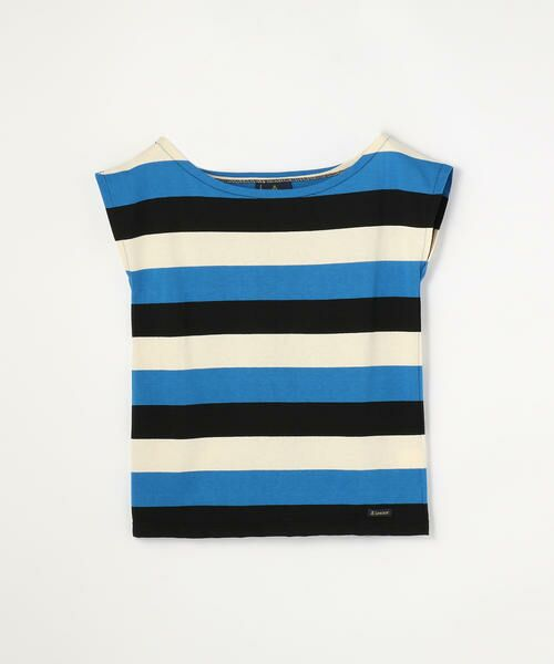 TOMORROWLAND / トゥモローランド カットソー   Le minor ワイドオープンネック Tシャツ(66 ブルー系)