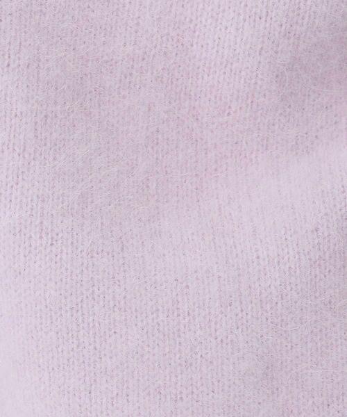 TOMORROWLAND / トゥモローランド ニット・セーター | フラッフィーヤーン ビルドネックプルオーバー | 詳細14