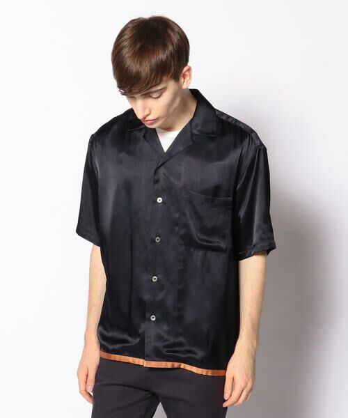 TOMORROWLAND / トゥモローランド シャツ・ブラウス | EDITION オープンカラーシャツ(68 ネイビー系)