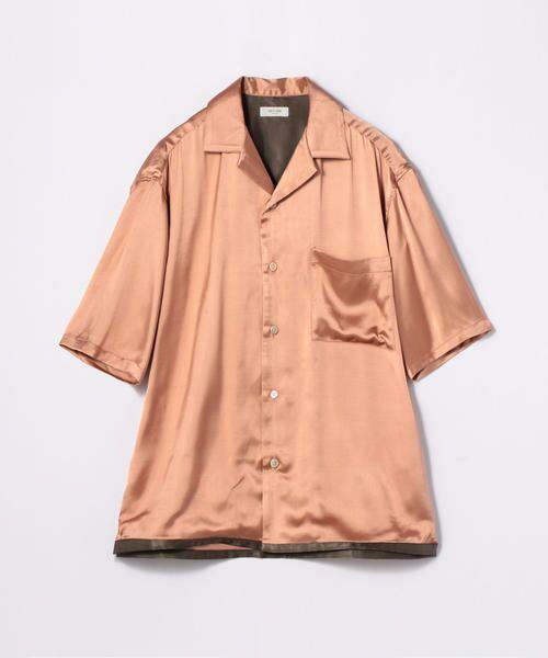 TOMORROWLAND / トゥモローランド シャツ・ブラウス | EDITION オープンカラーシャツ | 詳細11