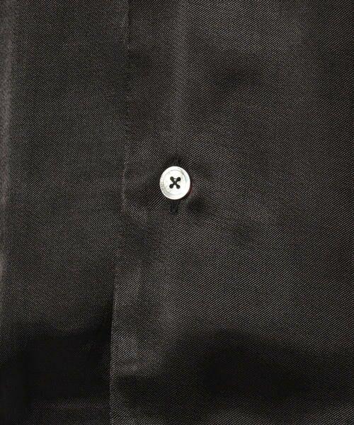 TOMORROWLAND / トゥモローランド シャツ・ブラウス | EDITION オープンカラーシャツ | 詳細4