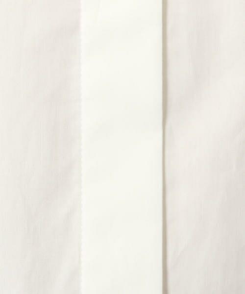 TOMORROWLAND / トゥモローランド シャツ・ブラウス | コットンサテン ラウンドスリーブシャツ | 詳細6