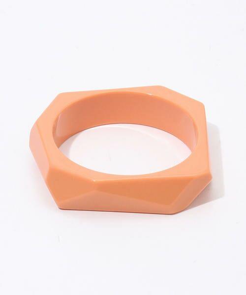 TOMORROWLAND/トゥモローランド PONO Mini Angle バングル 33 オレンジ F
