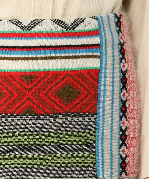 TOMORROWLAND / トゥモローランド ミニ・ひざ丈スカート | パッチワークジャカード Iラインスカート | 詳細10