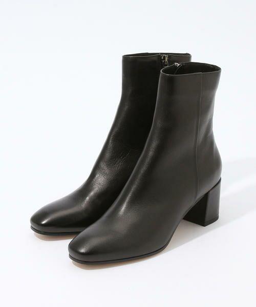 TOMORROWLAND / トゥモローランド ブーツ(ショート丈) | FABIO RUSCONI ミドルブーツ(19 ブラック)