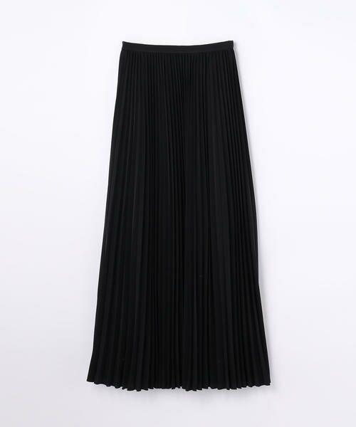 TOMORROWLAND / トゥモローランド ミニ・ひざ丈スカート | EDITION プリーツスカート(19 ブラック)