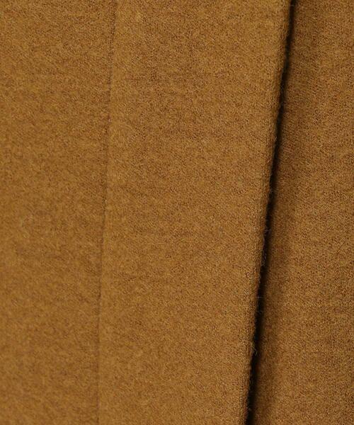 TOMORROWLAND / トゥモローランド ミニ・ひざ丈スカート | ウールメルトンジャージー ラップタイトスカート | 詳細10