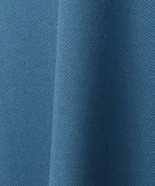TOMORROWLAND / トゥモローランド ミニ・ひざ丈スカート | ウールサキソニー アシンメトリーフレアスカート | 詳細6