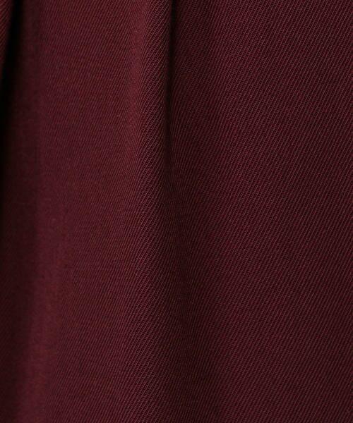 TOMORROWLAND / トゥモローランド スラックス・ドレスパンツ | ポリエステルウール タックハイウエストパンツ | 詳細9