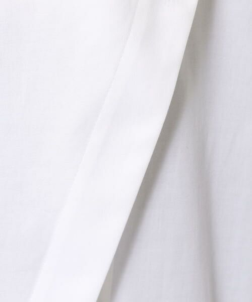 TOMORROWLAND / トゥモローランド シャツ・ブラウス | コットンシルクサテン ハイネックチュニックシャツ | 詳細6