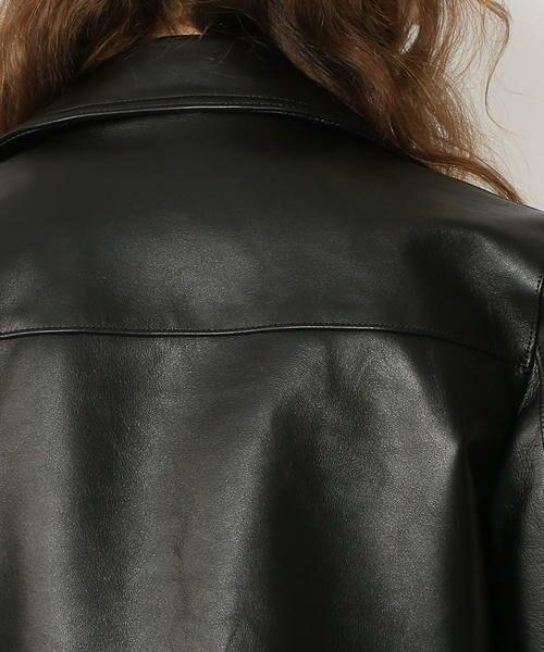 TOMORROWLAND / トゥモローランド レザーブルゾン・ジャケット   ラムレザー ライダースジャケット   詳細7