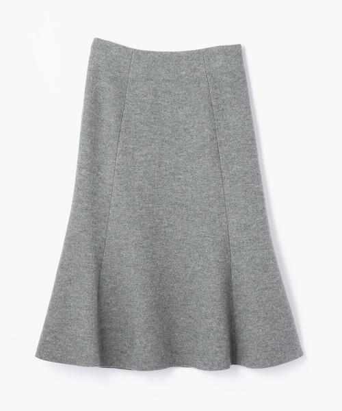 TOMORROWLAND / トゥモローランド ミニ・ひざ丈スカート | プレミアムウール マーメイドスカート | 詳細4