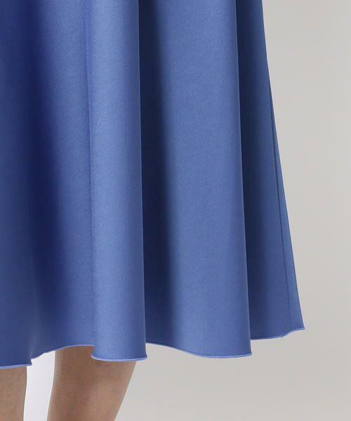 TOMORROWLAND / トゥモローランド ミニ・ひざ丈スカート | ポリエステルサテン サーキュラースカート | 詳細15