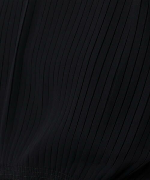 TOMORROWLAND / トゥモローランド ミニ丈・ひざ丈ワンピース | ポリエステルシフォン プリーツワンピース | 詳細6