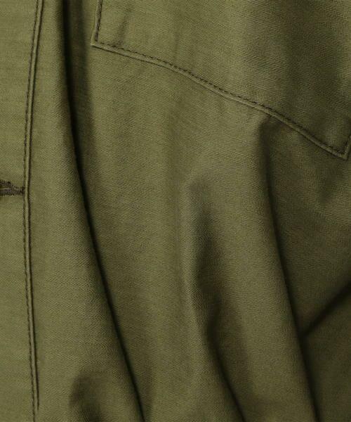 TOMORROWLAND / トゥモローランド シャツ・ブラウス | コットンモールスキン ベルテッドVネックシャツ | 詳細9